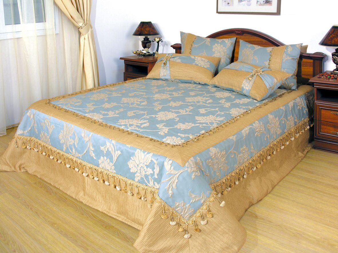 Как и из чего сшить покрывало на кровать 160