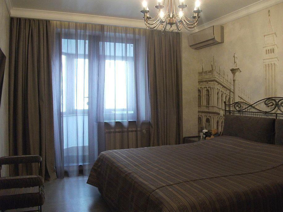Современные шторы для спальни фото