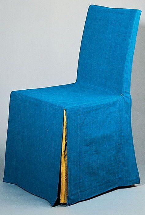 Как сделать накидки на стулья своими руками