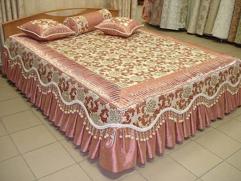 Как своими руками пошить покрывало на кровать