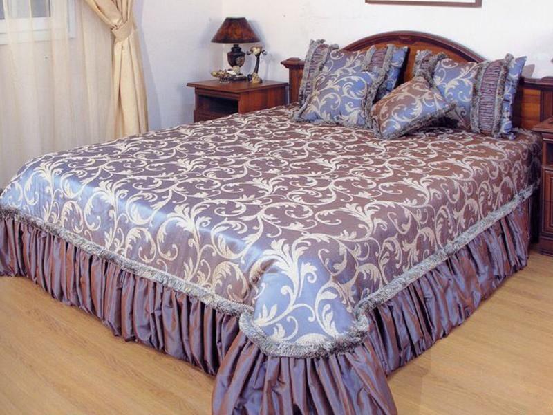 Покрывало на кровать в спальню фото красивые