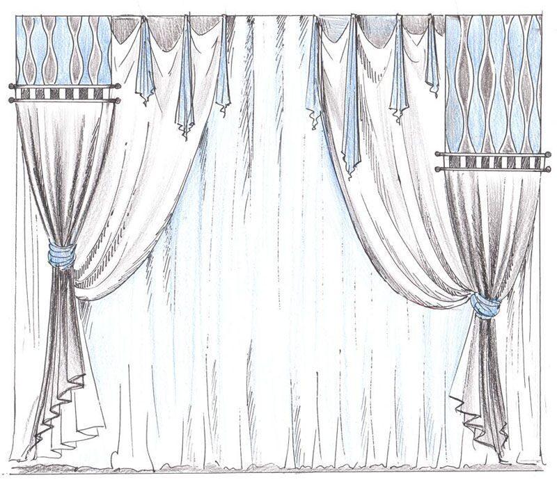 Ваниль рисунок